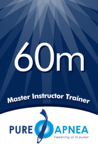 Freediving Master Instructor Trainer