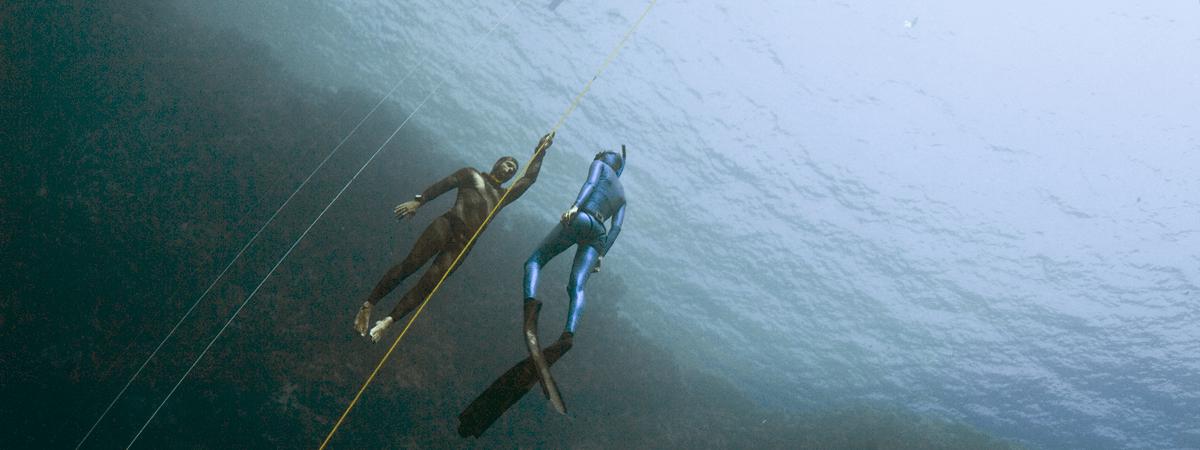 Buddy diving