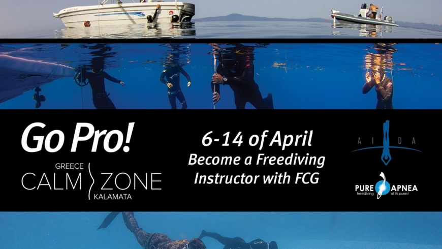 Instructor Qualification Course in Greece 2019!